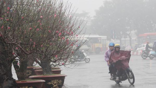 Miền Bắc mưa rét trước dịp Tết Nguyên đán