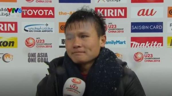 """Quang Hải rơi nước mắt tiếc nuối: """"Chúng tôi có thể làm tốt hơn"""""""