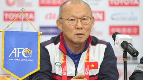 HLV Park Hang Seo xin lỗi người hâm mộ vì U23 Việt Nam không vô địch giải U23 châu Á