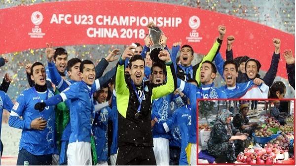 """Vô địch AFC, thế nhưng ở ngay quê nhà, báo chí và người dân lại không mấy """"mặn mà"""" với chiến thắng của U23 Uzbekistan"""