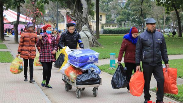 Phiên chợ Tết 0 đồng: Sưởi ấm tình người trong ngày Đông giá rét