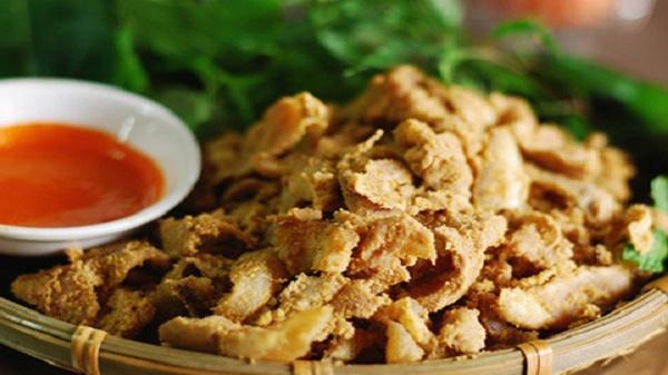 Thịt lợn muối chua Thung Nai nhắc đến là thèm