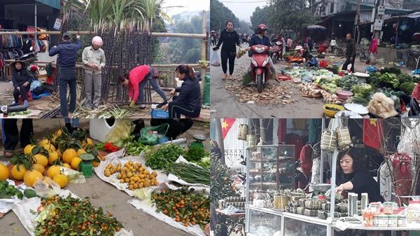 Chợ Vồ lưu giữ hồn quê ngày Tết ở Hòa Bình