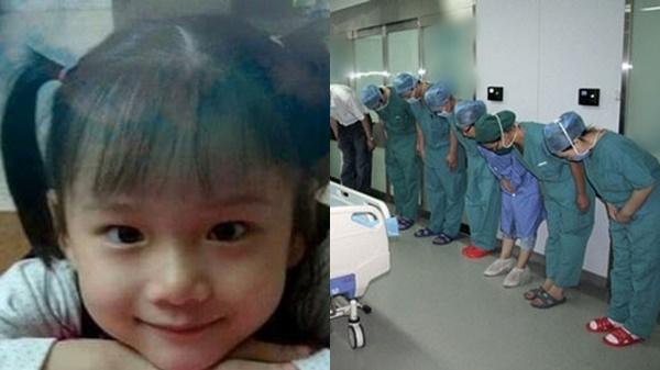 Bác sỹ nghiêng mình vì nghĩa cử của bệnh nhi 7 tuổi