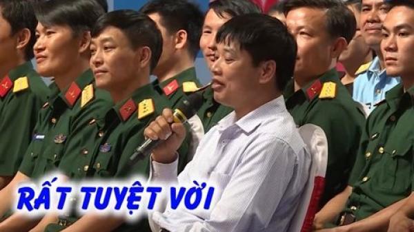 Ông chủ vườn cam Cao Phong (Hòa Bình) đến trường quay tìm bạn gái cho con