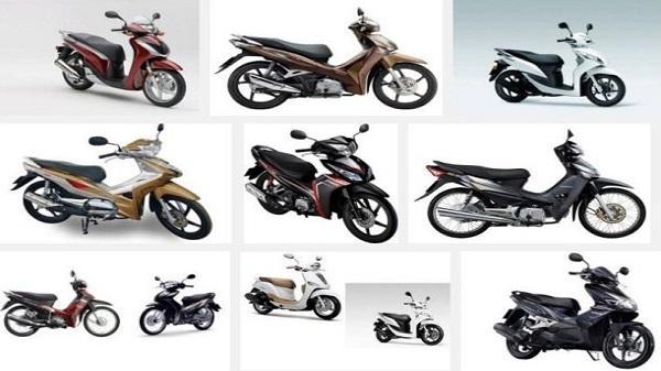 Bảng giá xe máy Honda tháng 4/2018 cập nhật mới nhất