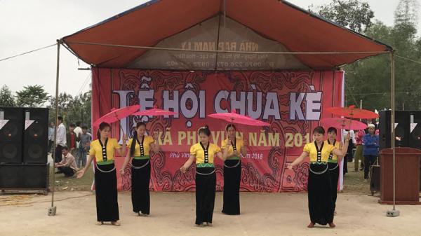Tân Lạc(Hòa Bình): Nô nức vui hội Chùa kè 2018