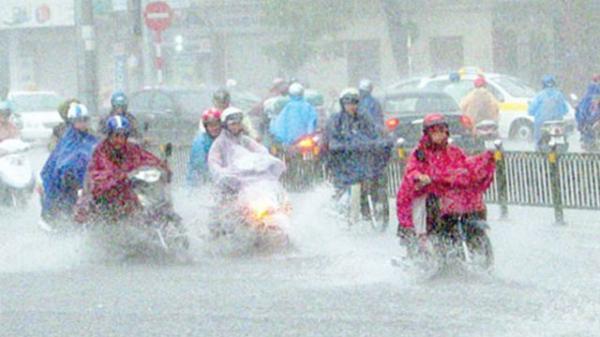 DỰ BÁO THỜI TIẾT (4/4): Không khí lạnh tràn về, Bắc Bộ có mưa lớn và dông
