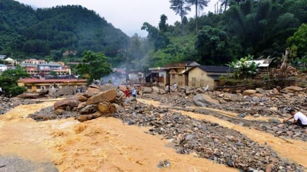 Cảnh báo lũ, sạt lở đất ở Lai Châu, Điện Biên, Sơn La, Hòa Bình, Yên Bái
