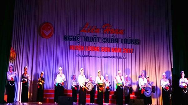 Liên hoan Nghệ thuật quần chúng huyện Lương Sơn năm 2017