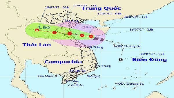 Tin bão mới: Bão số 2 diễn biến phức tạp, nguy cơ lũ lên cao 6m