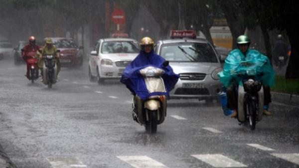 Dự báo thời tiết 31/5: Miền Bắc mưa giông liên tiếp 3 ngày