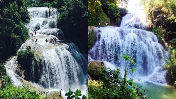 'Phát sốt' với thác nước đẹp như tiên cảnh ngay tại Hòa Bình, còn chờ gì mà chưa lên kế hoạch