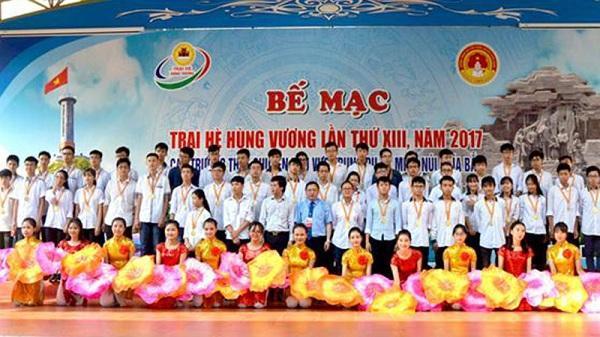 Trường THPT chuyên Hoàng Văn Thụ đạt thành tích cao tại Trại hè Hùng Vương