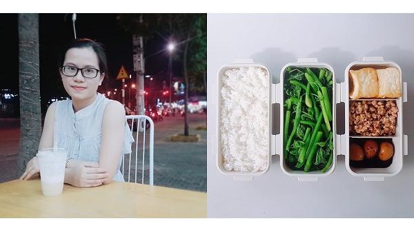 """9x Hải Dương chia sẻ thực đơn cơm trưa văn phòng 20 nghìn đồng nhìn đơn giản nhưng ai cũng muốn ăn                                <span class=""""ico-photo""""></span>"""