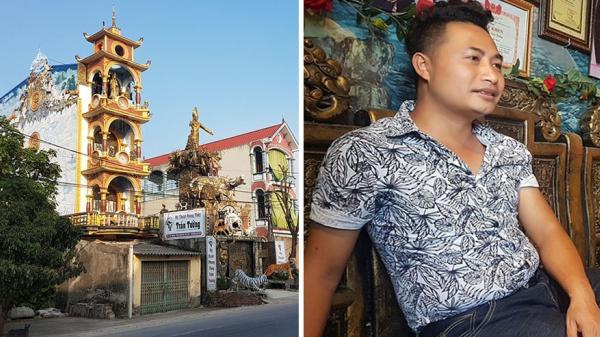 Thông tin BẤT NGỜ về chủ nhân căn nhà phong thủy kỳ quái như động Ngưu Ma Vương ở Hưng Yên