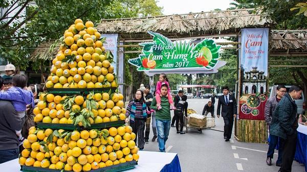 9 tỉnh sẽ tham dự lễ hội cam Hưng Yên 2018