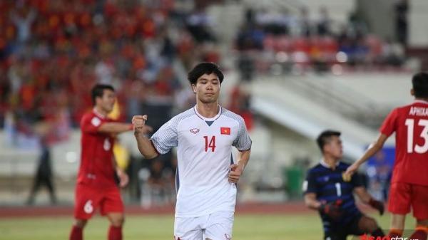 Hòa Myanmar, ĐT Việt Nam đặt một chân vào bán AFF Cup 2018!