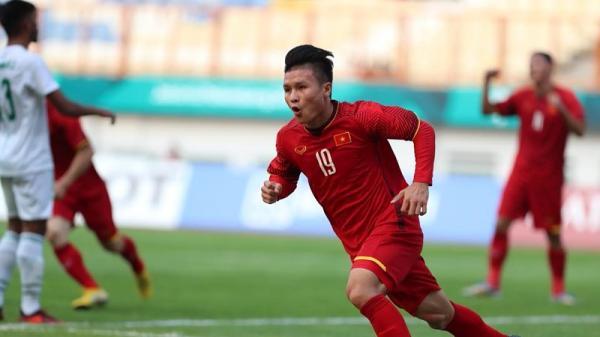 Quang Hải giành giải cầu thủ xuất sắc nhất AFF Cup 2018