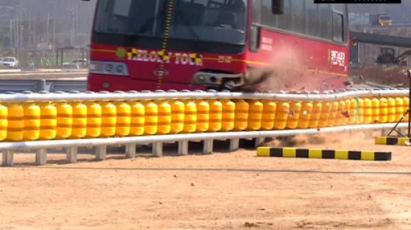 Cách giảm tai nạn của loại rào chắn bánh xoay ở Dốc Cun
