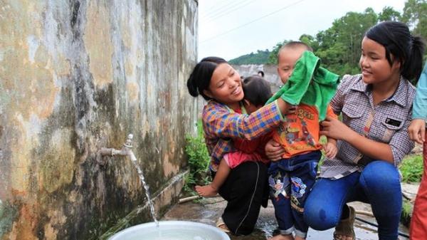 Năm 2020: 95% người dân nông thôn Hòa Bình sẽ được sử dụng nước sạch