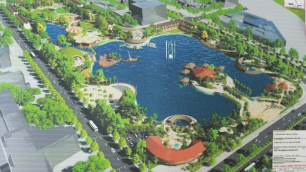 Đầu tư trên 259 tỷ đồng xây dựng Công viên Tuổi trẻ ở Hòa Bình