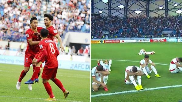 Thắng Jordan 4-2 sau loạt sút luân lưu, Việt Nam là đội đầu tiên bước vào vòng tứ kết