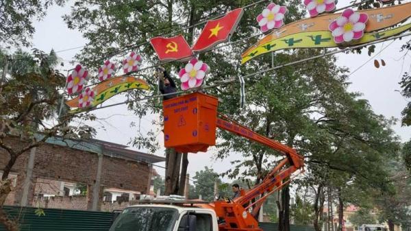 Thành phố Hòa Bình chỉnh trang đô thị đón Tết Nguyên đán Kỷ Hợi 2019