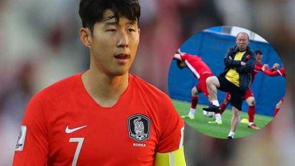 Son Heung-min bất ngờ gửi thông điệp đến HLV Park Hang-seo và ĐT Việt Nam