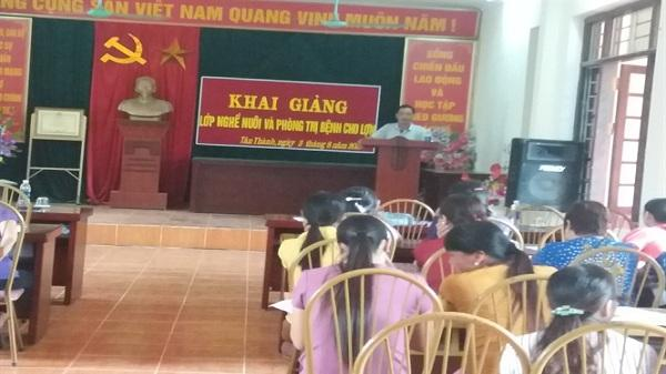Hòa Bình khai giảng 11 lớp đào tạo nghề cho lao động nông thôn