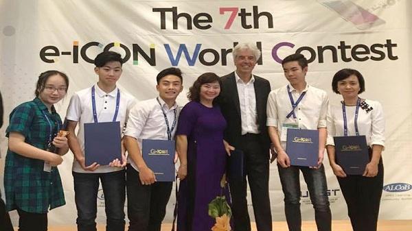 Học sinh tỉnh Hòa Bình đạt 2 giải tại cuộc thi e-ICON World Contest tại Hàn Quốc