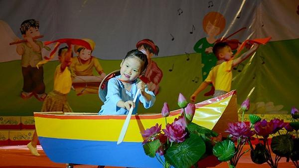 17 trường mầm non tham gia Liên hoan Tiếng hát trẻ thơ TP. Điện Biên Phủ