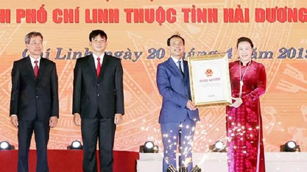 Hải Dương: Chí Linh chính thức trở thành thành phố