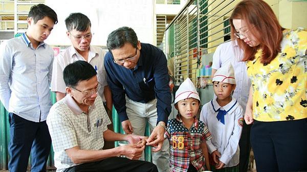 Tìm ra nguyên nhân khiến gần 400 học sinh ở Điện Biên ngứa khắp cơ thể