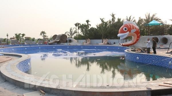 Kim Thành: Khánh thành khu bể bơi lớn nhất từ trước tới nay vào hoạt động dịp nghỉ lễ 30/4