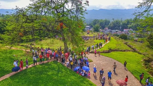 Điện Biên: Dịp nghỉ lễ năm nay, lượng du khách tăng đột biến