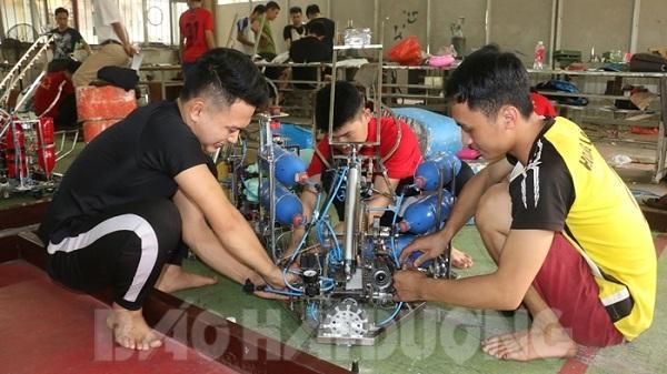 Vòng chung kết Robocon lần đầu tiên được tổ chức ở Hải Dương: Chủ nhà đã sẵn sàng