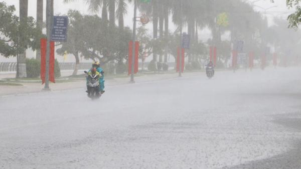 Dự báo thời tiết cuối tuần ở Hải Dương, cảnh báo mưa giông kèm sấm sét