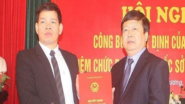 THÔNG BÁO: Sở Giáo dục và Đào tạo tỉnh Hải Dương có Giám đốc mới