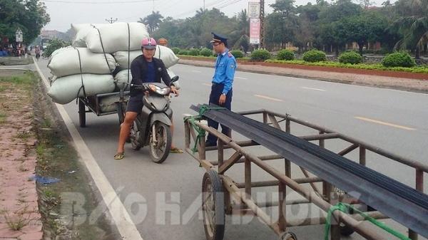Hải Dương: Tịch thu 13 xe tự chế, phạt đến cả chục triệu đồng