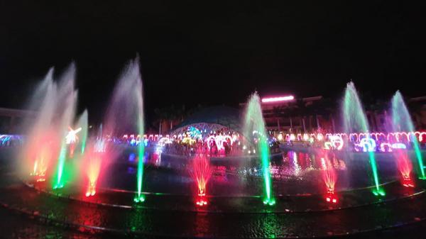 Hòa Bình ơi, chuẩn bị chào đón lễ hội trình chiếu ánh sáng siêu chất với hàng triệu bóng đèn Led