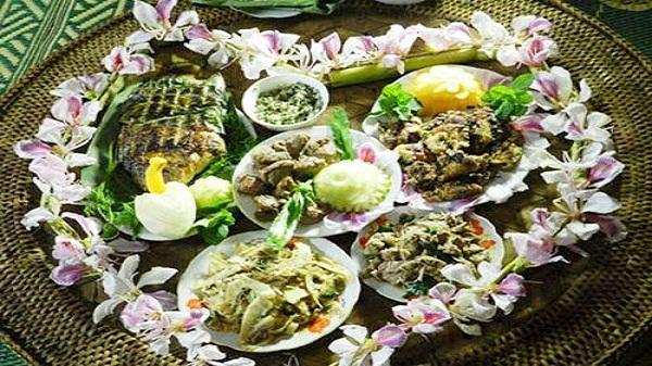 Độc đáo phong vị ẩm thực xứ Mường - Hòa Bình