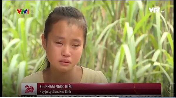 """Xót thương hoàn cảnh hai mẹ con ở Hòa Bình: """"Cháu chỉ ước được đi học đến lớp 12 để có thể kiếm tiền nuôi mẹ"""""""