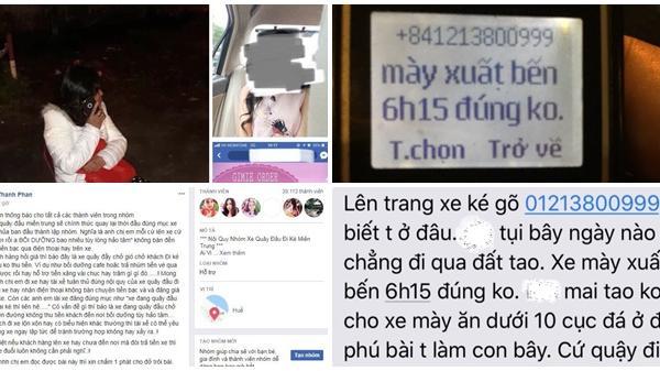 """Vụ xe 7 chỗ """"chở khách chui"""" tuyến Huế - Đà Nẵng: Hàng loạt khách bị dọa giết"""