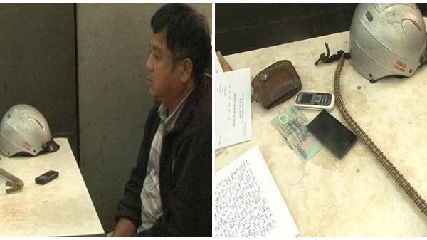 TP Huế: Bắt đối tượng đột nhập nhà dân trộm tiền