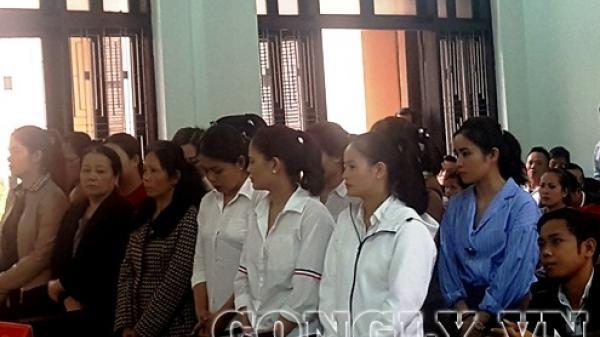 TP Huế: Xét xử đường dây ghi lô đề do hàng chục phụ nữ tổ chức