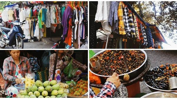 Về Huế, dạo Chợ Xép Thuận Lộc sắm đồ 'bành' đẹp rẻ - chỉ từ 10.000 đồng