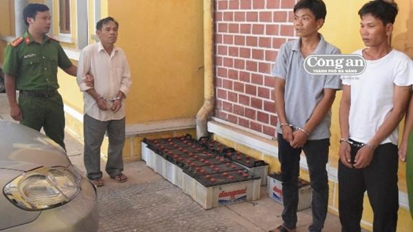 """Phú Vang - Huế: Truy bắt nhóm """"ngư tặc"""""""