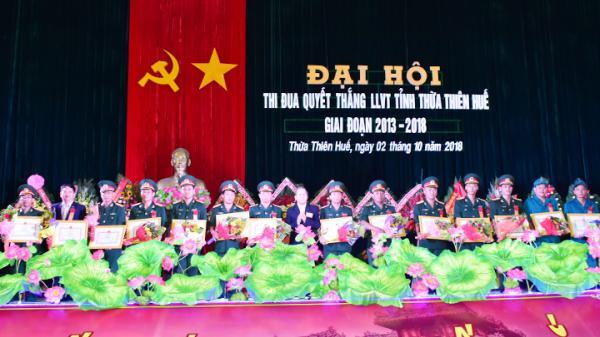 Đại hội thi đua quyết thắng lực lượng vũ trang tỉnh Thừa Thiên Huế giai đoạn 2013-2018
