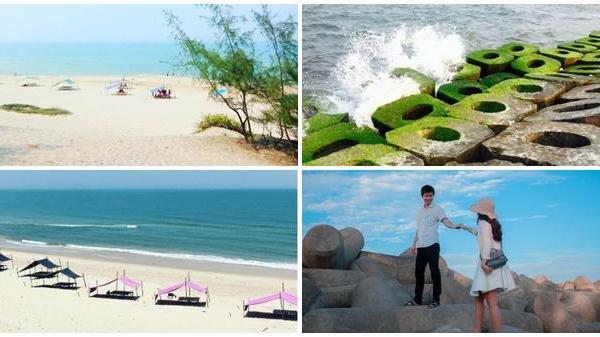Kéo nhau về biển Hải Dương đẹp hoang sơ và chụp hình thơ mộng ở Huế